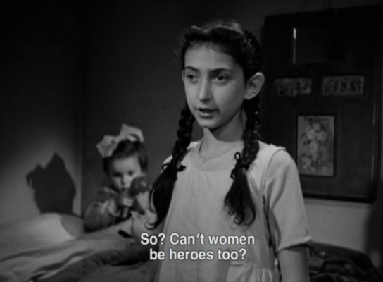 Cant woman be heroes too