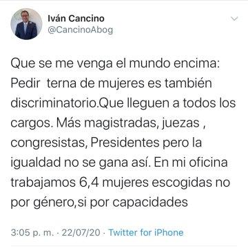 tweet cancino